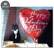 Valentine's Day Kitty Puzzle