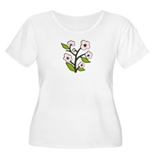 pink cherry blossoms T-Shirt
