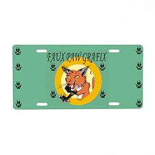 FPG_LOGO FULL Aluminum License Plate