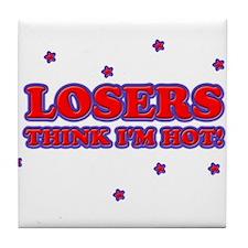Cute Loser Tile Coaster