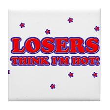 Unique Loser Tile Coaster