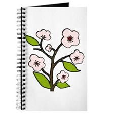 pink cherry blossoms Journal