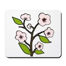 pink cherry blossoms Mousepad