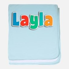 Layla Spring11B baby blanket