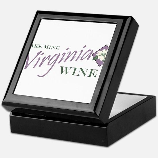 Virginia Wine Keepsake Box