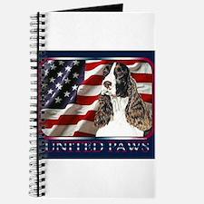 English Springer Spaniel Flag Journal