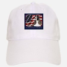 English Springer Spaniel Flag Baseball Baseball Cap