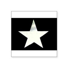 "Star Square Sticker 3"" x 3"""