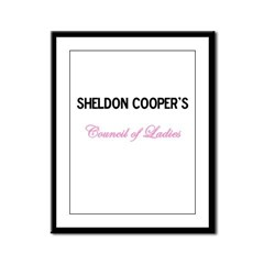 Council of Ladies Framed Panel Print