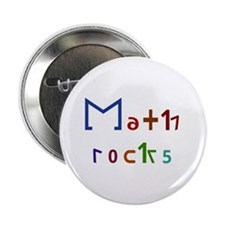 "Math Rocks 2.25"" Button"