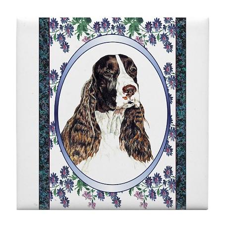 Springer Spaniel Designer Tile Coaster