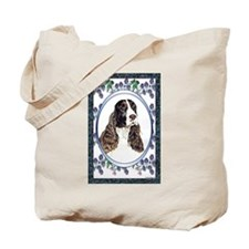 Springer Spaniel Designer Tote Bag