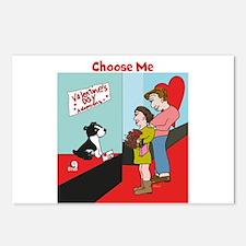 Choose Me Postcards (Package of 8)