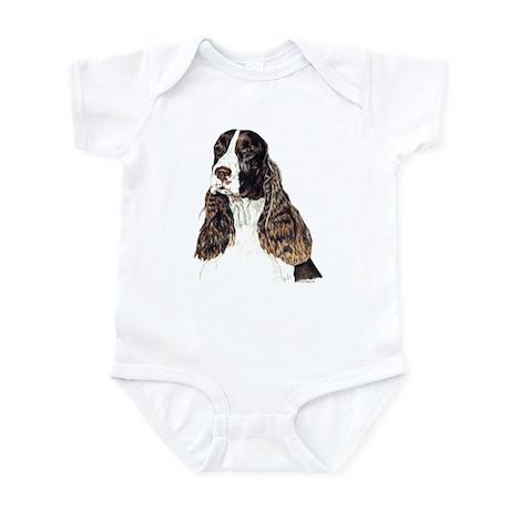 English Springer Spaniel Infant Bodysuit