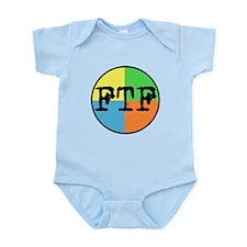 FTF Round Sticker Design Infant Bodysuit