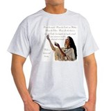 American indian Mens Light T-shirts