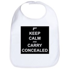 Keep Calm Carry Concealed Bib