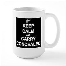 Keep Calm Carry Concealed Mug