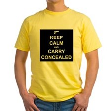 Keep Calm Carry Concealed T
