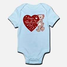 Valentines Day Bear Infant Bodysuit