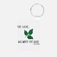 The Cache was worth the rash! Keychains