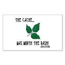 The Cache was worth the rash! Decal