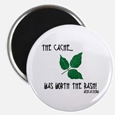 """The Cache was worth the rash! 2.25"""" Magnet (10 pac"""