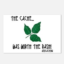 The Cache was worth the rash! Postcards (Package o