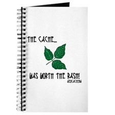 The Cache was worth the rash! Journal