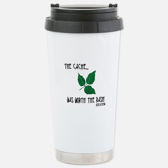 The Cache was worth the rash! Stainless Steel Trav