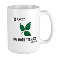 The Cache was worth the rash! Mug