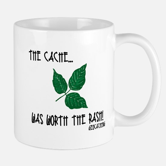 The Cache was worth the rash! Mug