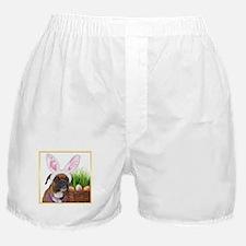 Easter Boxer Dog Boxer Shorts