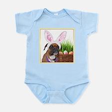 Easter Boxer Dog Infant Bodysuit