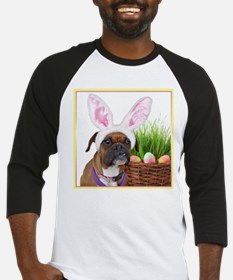 Easter Boxer Dog Baseball Jersey
