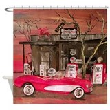 Car shower curtain Shower Curtains