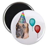 HAPPY BIRTHDAY BULLMASTIFF Magnet