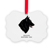 Belgian Shepherd Dog Ornament