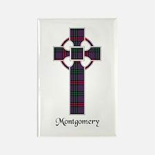 Cross - Montgomery Rectangle Magnet