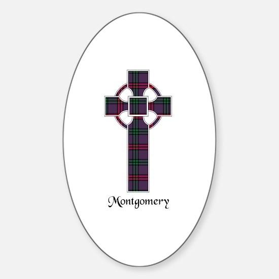 Cross - Montgomery Sticker (Oval)