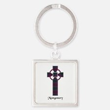 Cross - Montgomery Square Keychain