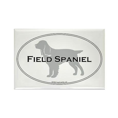 Field Spaniel Rectangle Magnet
