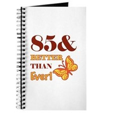 85 And Better Than Ever! Journal