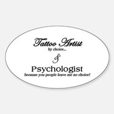 Tattoo Artist Decal