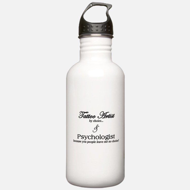 Tattoo Artist Water Bottle
