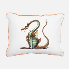 sir draagon rect canvas pillow