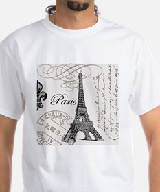 Vintage Paris Eiffel Tower Shirt