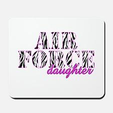 AF Daughter Zebra Mousepad