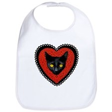 Red Doily Cat Bib