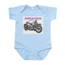 Harley Davidson Panhead motorcycle Drawing Infant